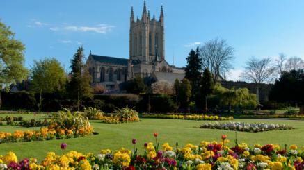 Kurs językowy w Anglii, Katedra w mieście Bury St Edmunds