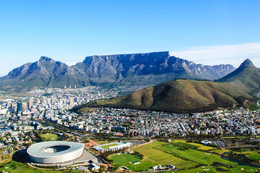 Kurs językowy w RPA, Widok na Kapsztad